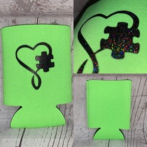 Other - 5 for $25 Autism awareness  koozie new